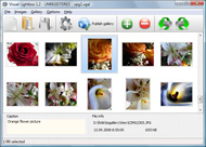 photo album software for web page link no xml usando lightbox