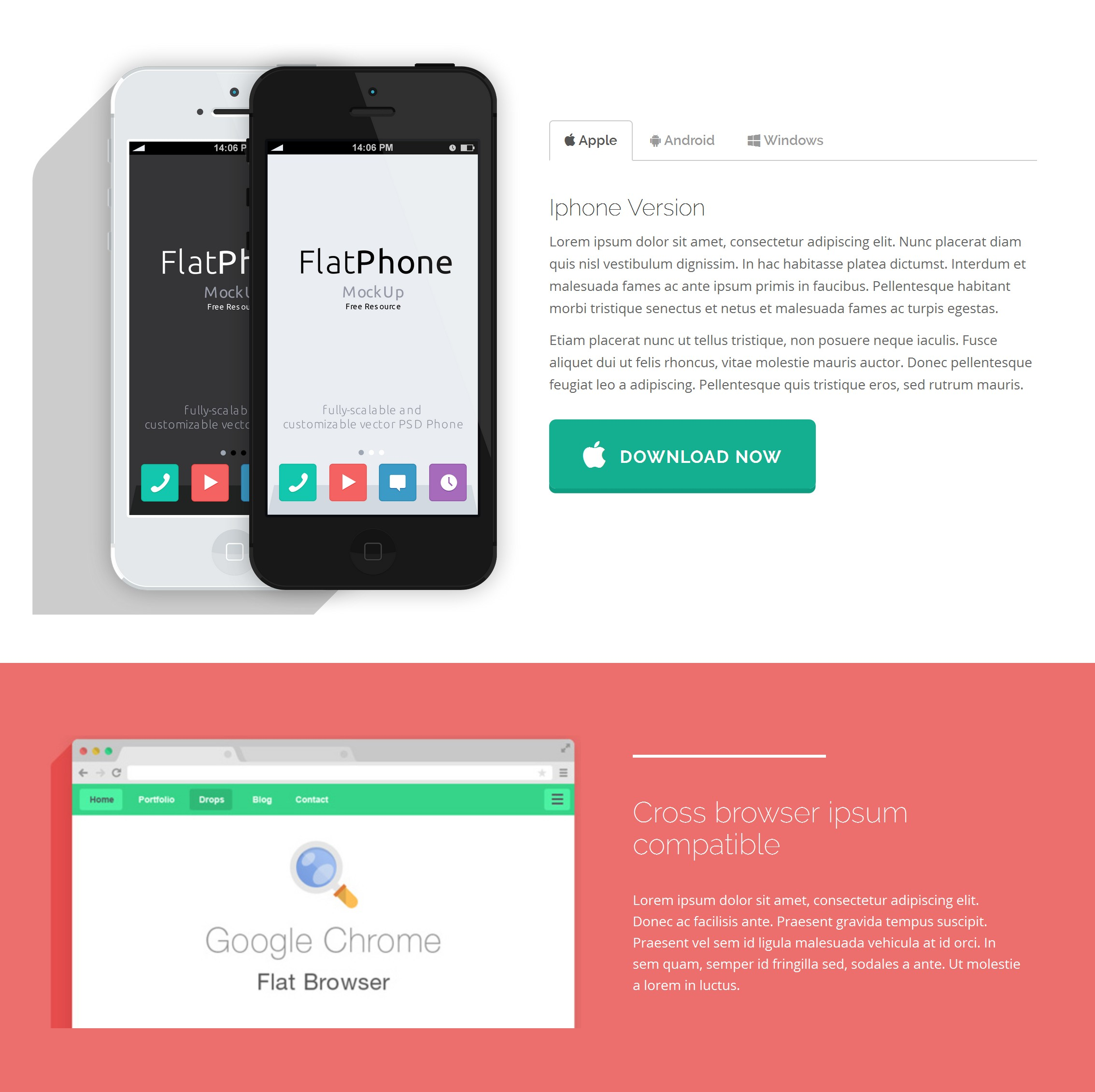 Free Download Bootstrap Single Page Theme