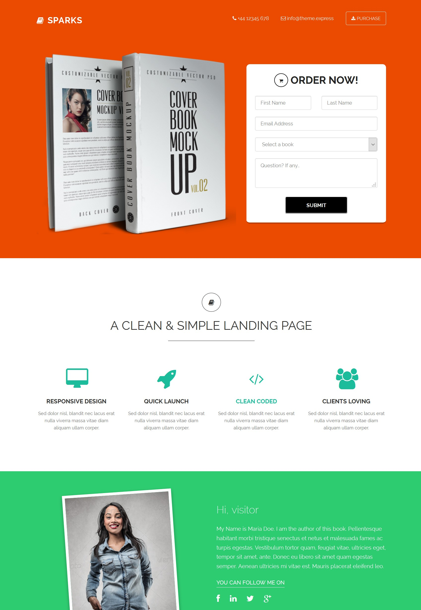 Mobile Bootstrap Education Theme