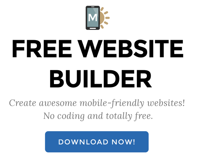 easy free website builder