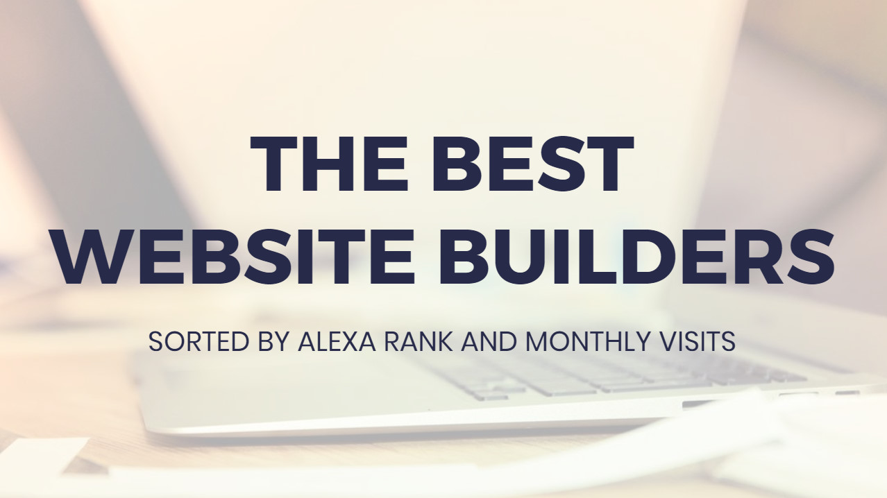 Most ideal  Internet Site Builders