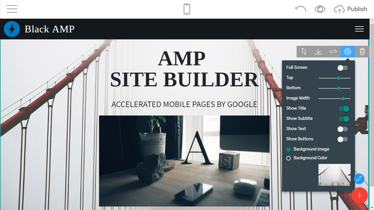 Mobile-friendly Webpage Maker