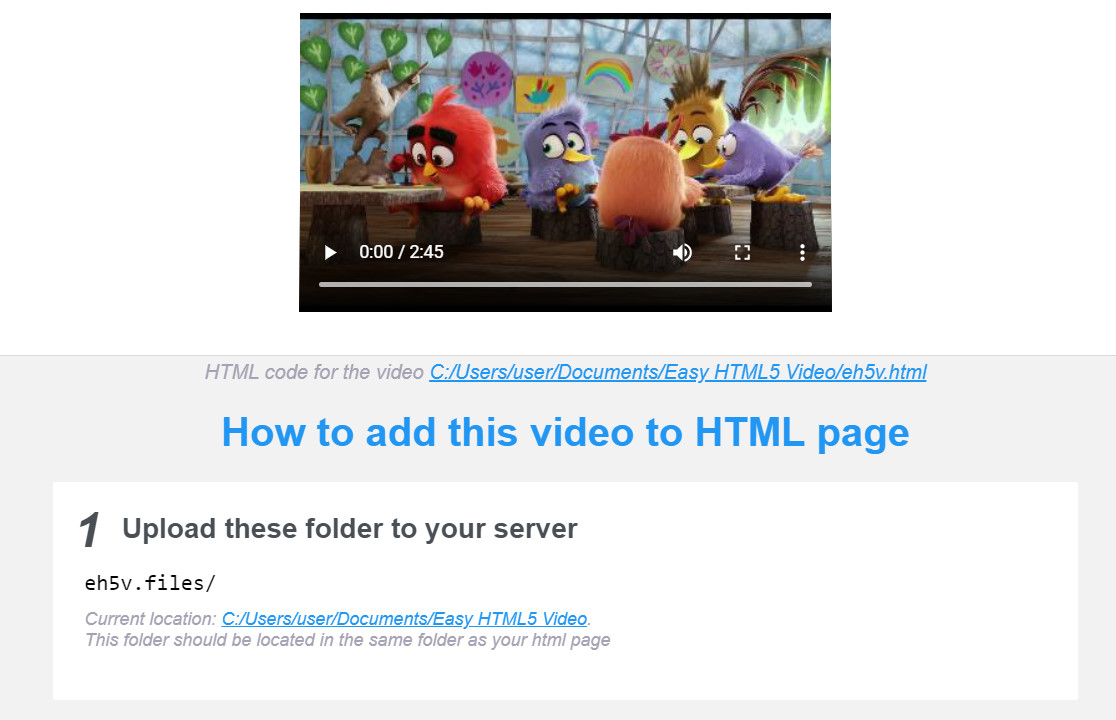 html5 video autoplay