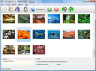 create photo gallery for web site Lightbox Com Impressão