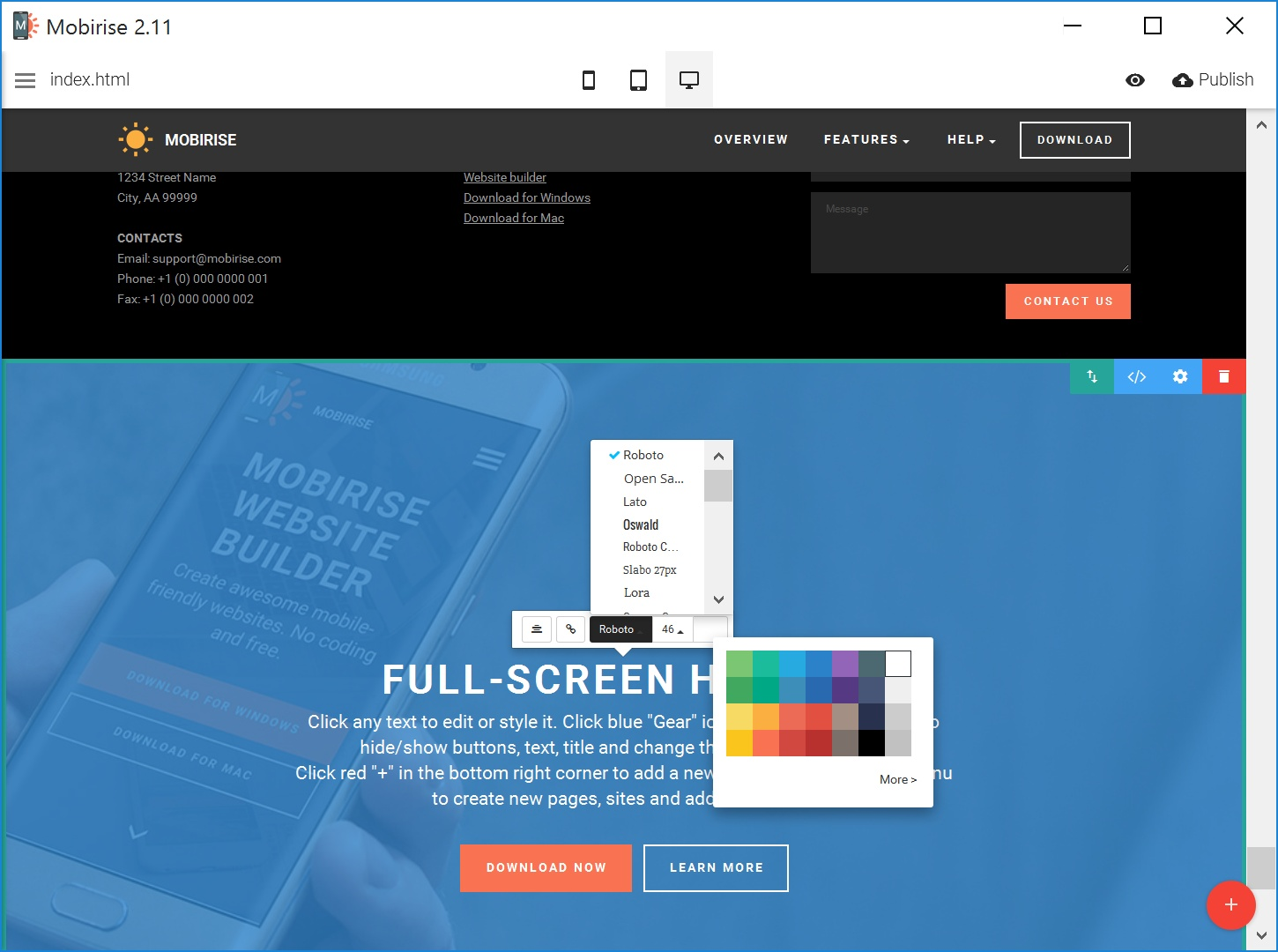 Quick WYSIWYG Web Page  Builder Review