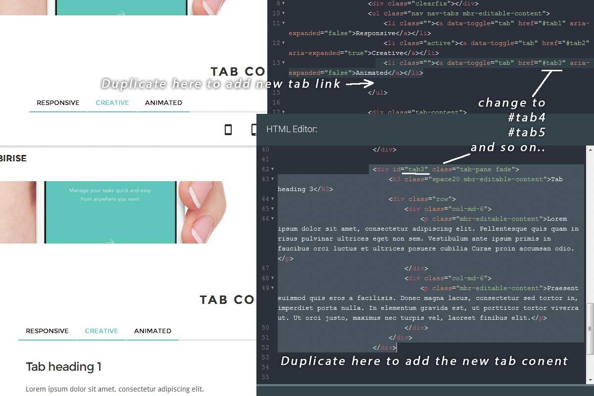 Simple Bootstrap Dark Theme