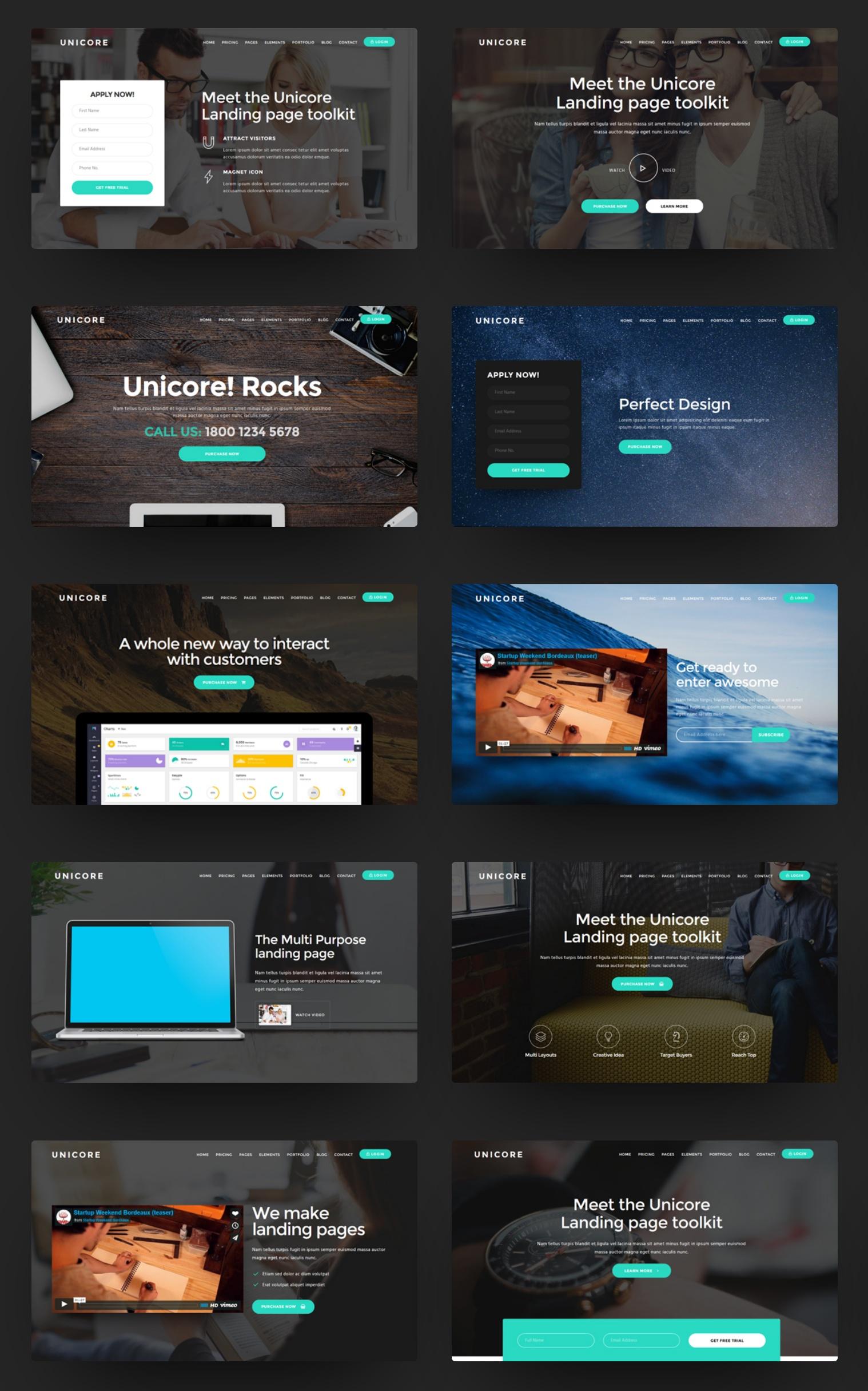 Simple Bootstrap Portfolio Theme
