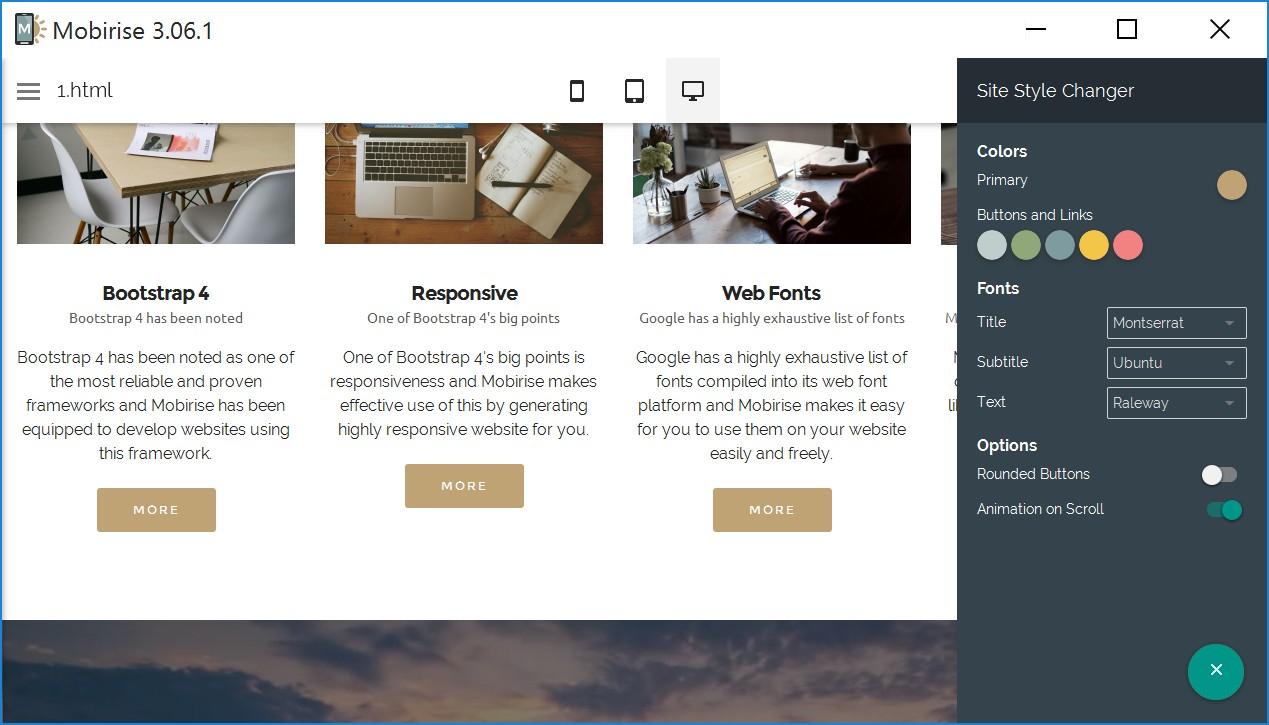 Mobile Responsive Website Builder Software