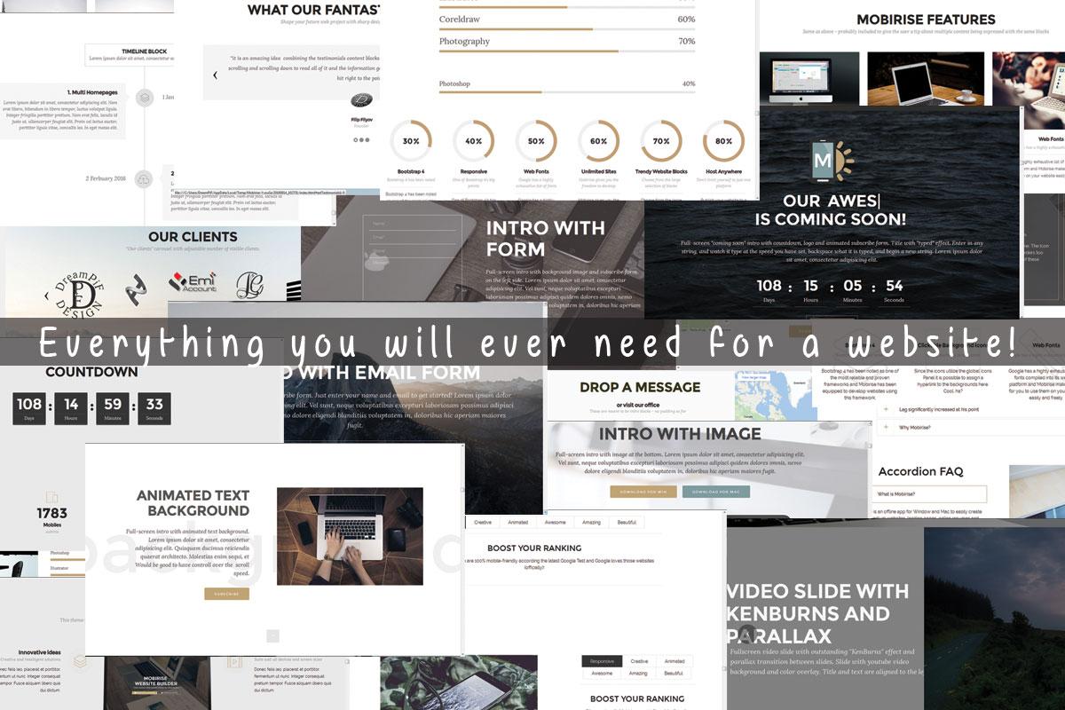 Responsive Website Maker