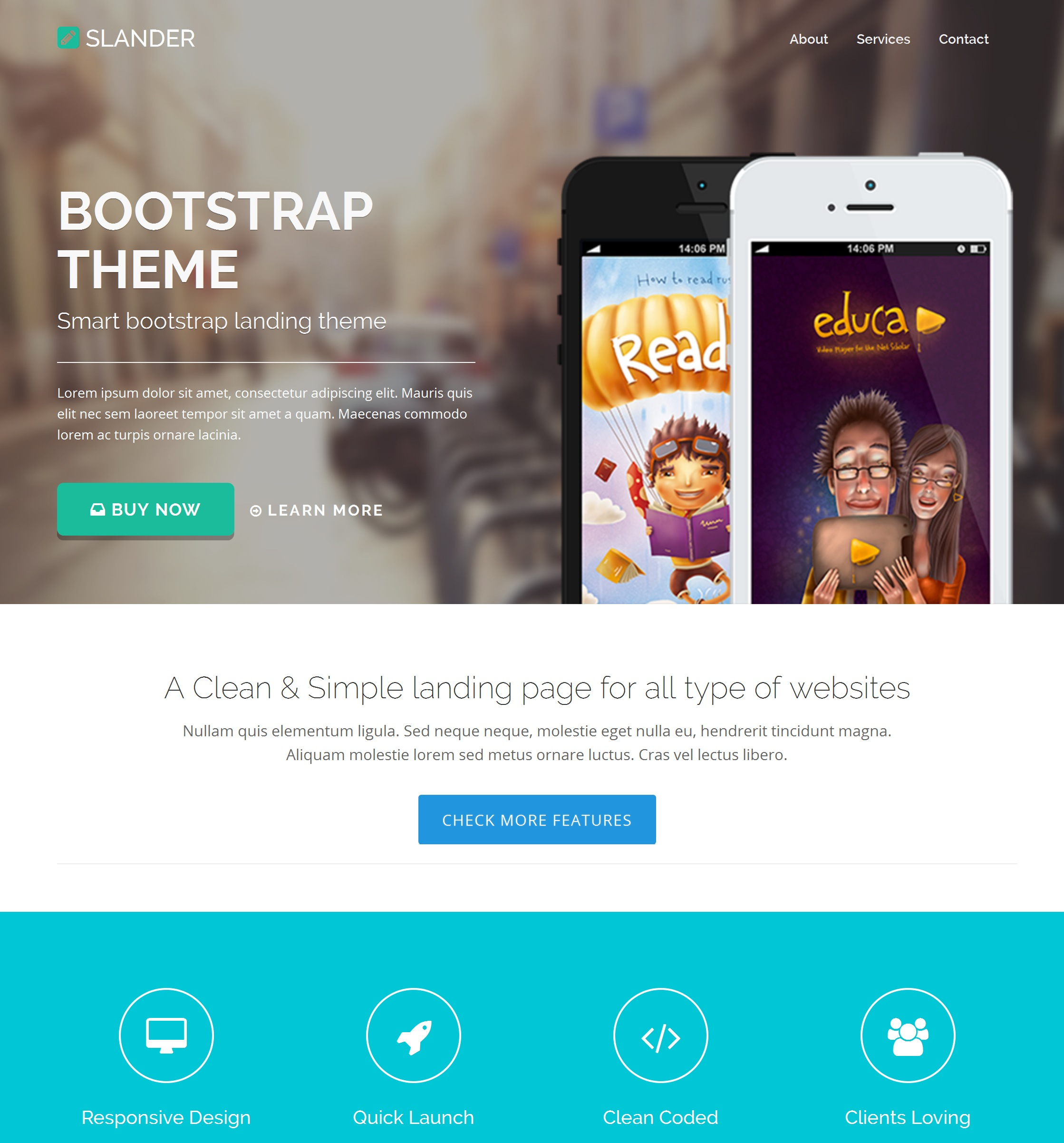 Free Download Bootstrap Design Theme