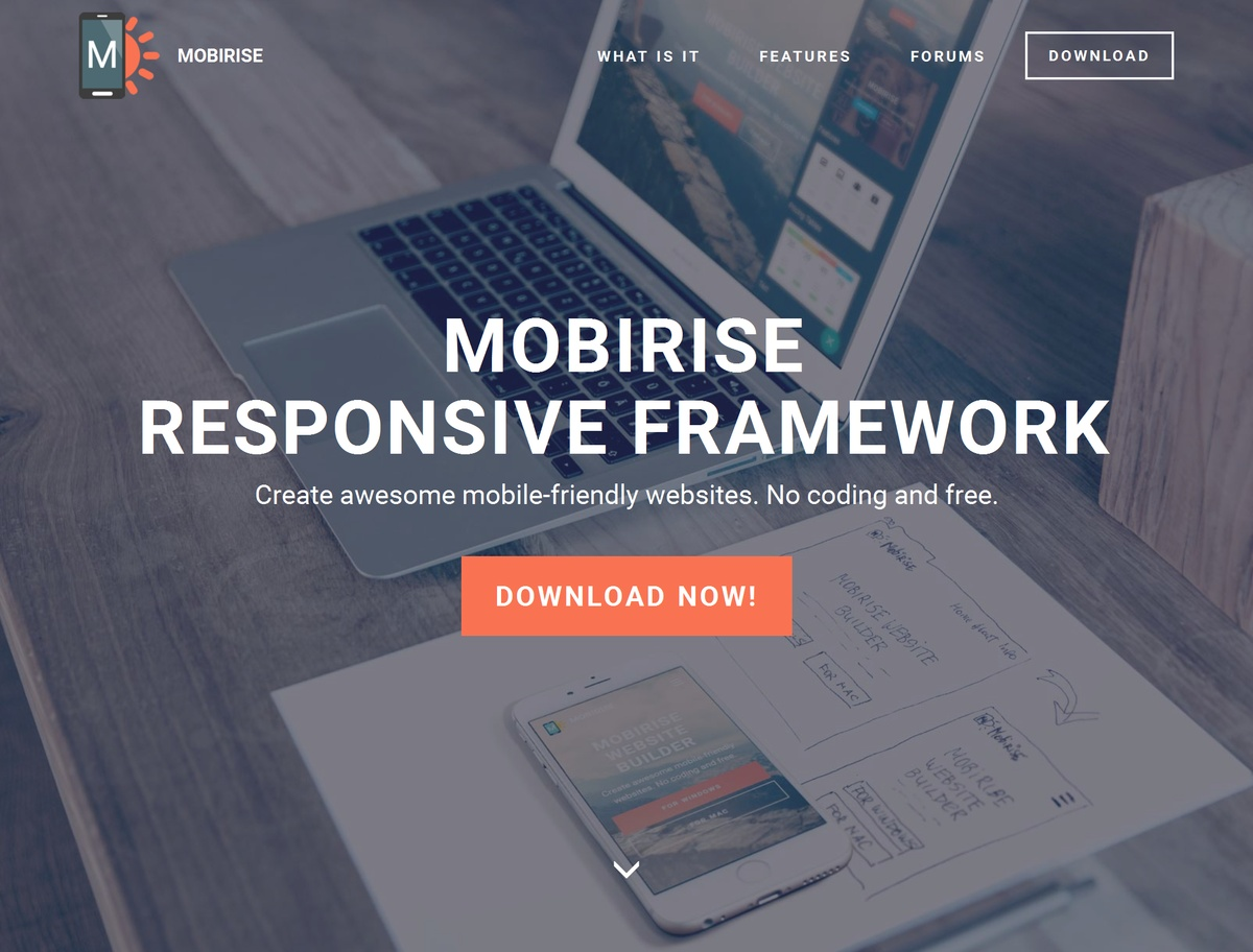 Simple Responsive Web Template