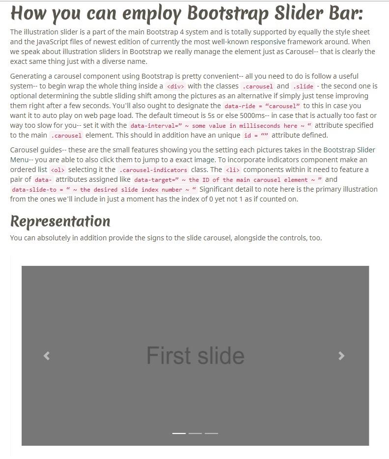 Bootstrap Slider Set Value
