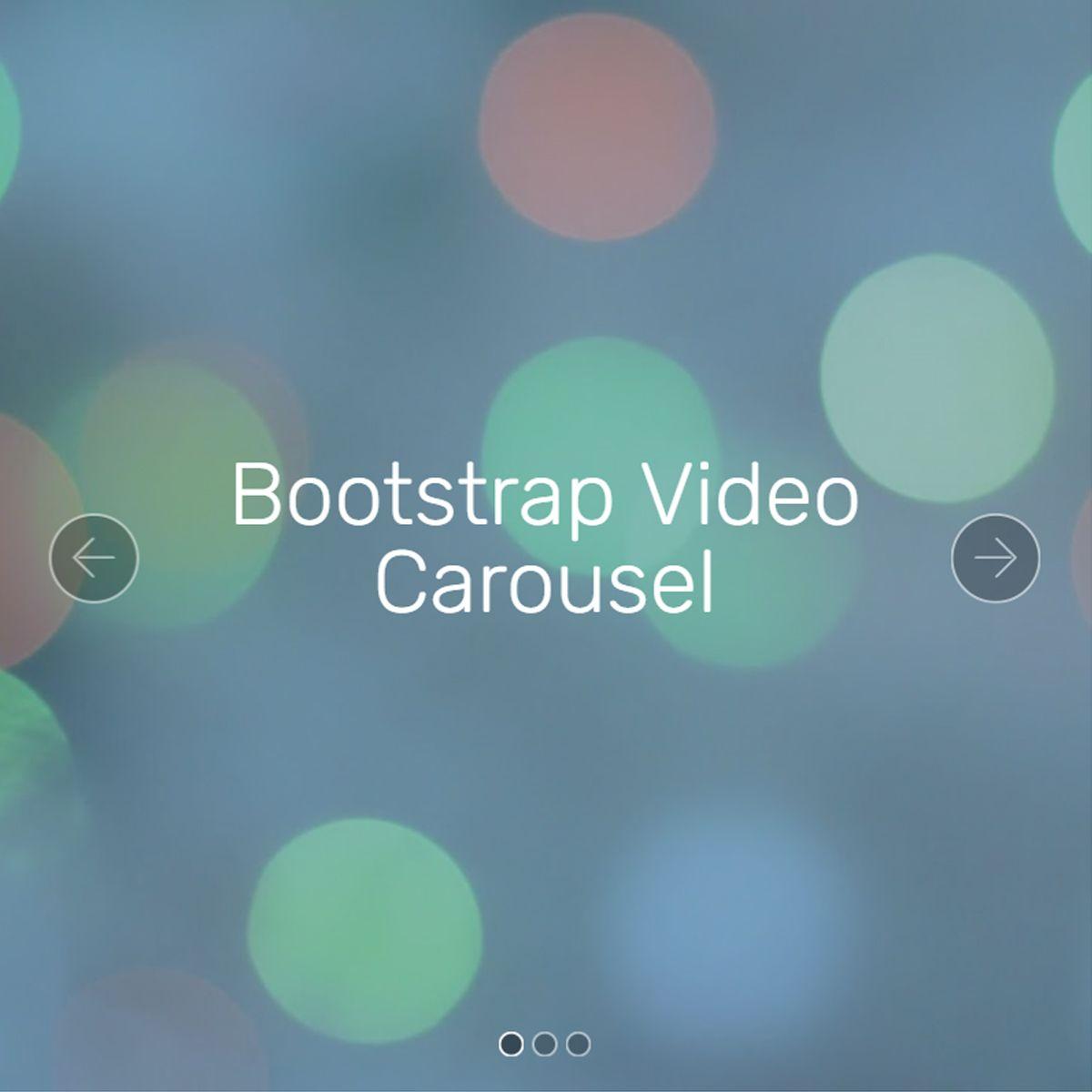 CSS Bootstrap Photo Slideshow