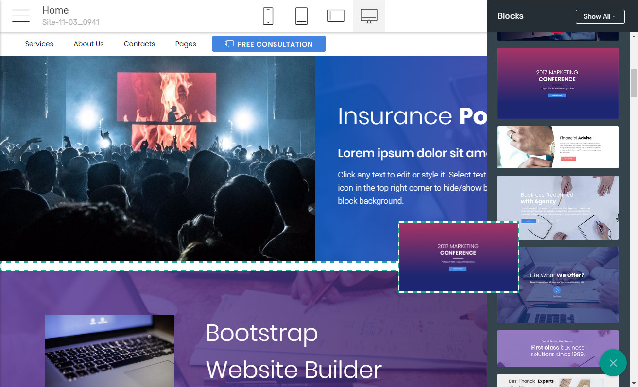 Free Page Builder
