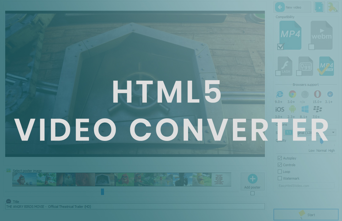 MP4 to HTML5